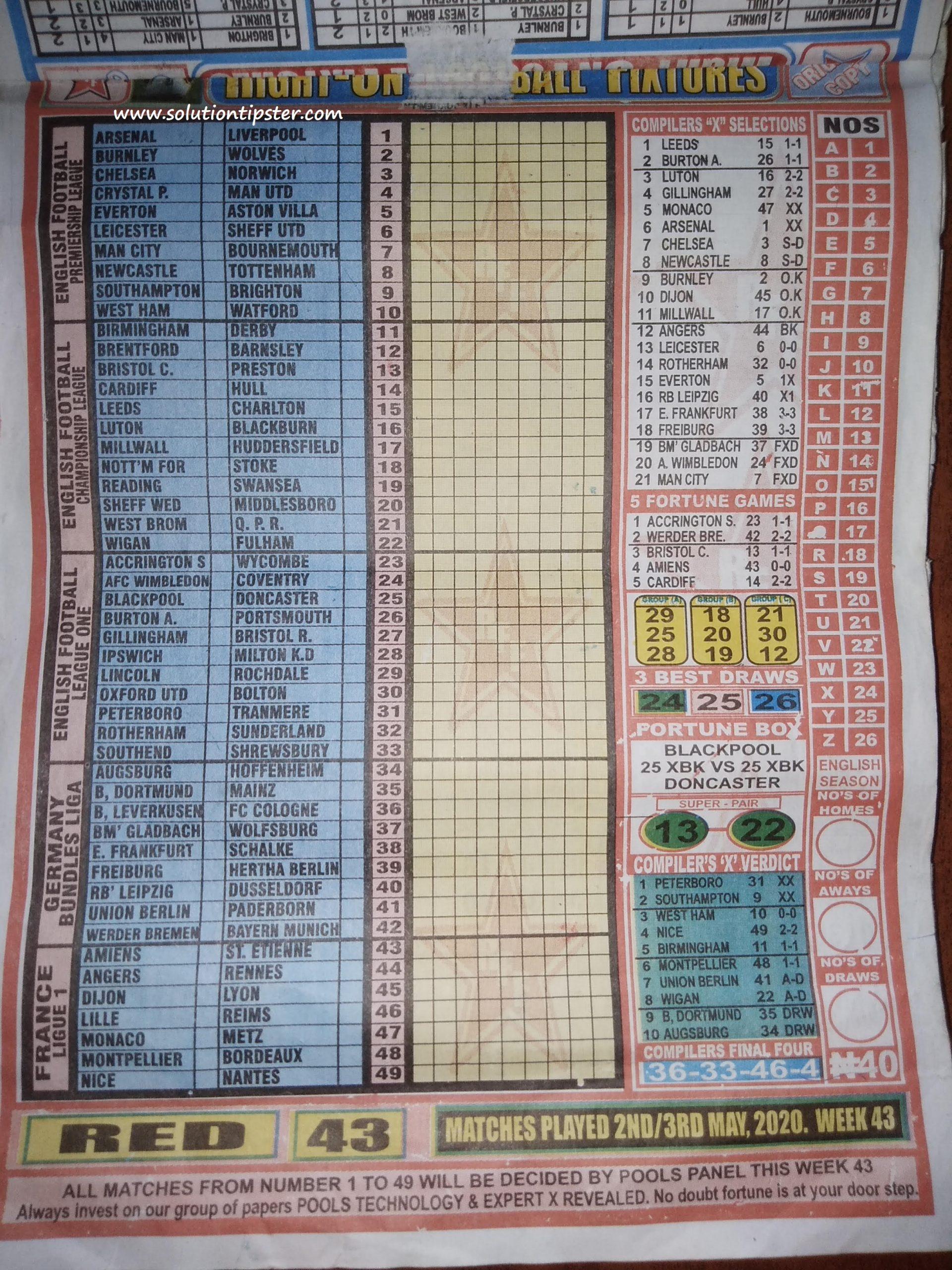 Week 43 pool betting que es minado de bitcoins price